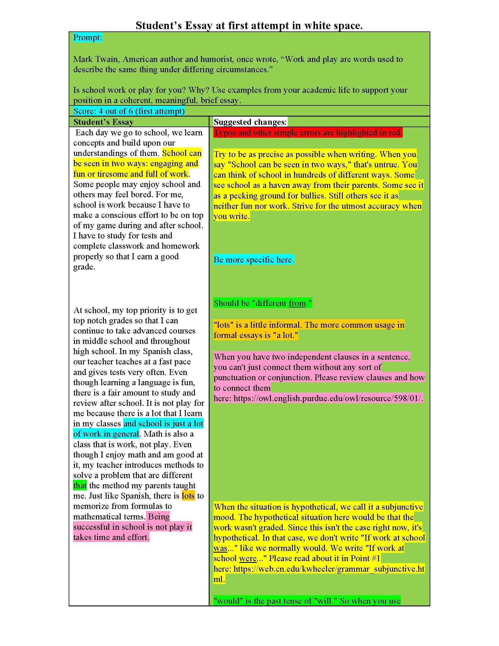 Dissertation written past tense